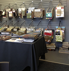 thousands of custom fabric options available in sample books at portland commercial upholstery
