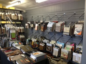 Portland Commercial Upholstery showroom has 1,000s of fabrics to choose from